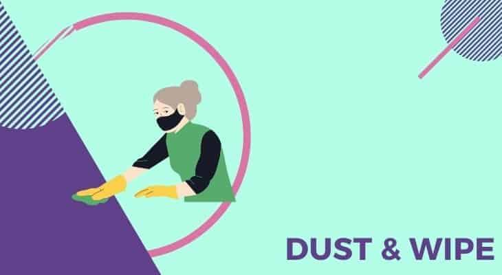dusting room