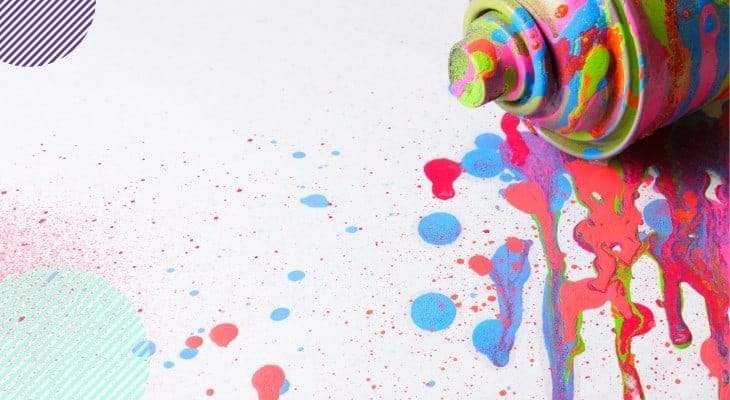 spray paint vs brush paint furniture