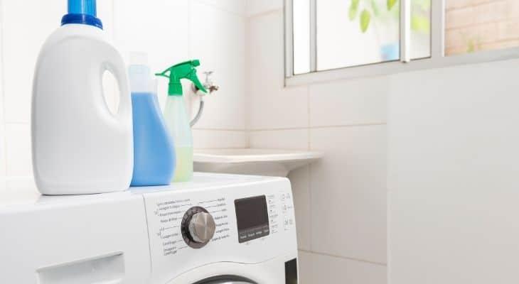 white vinegar washing machine