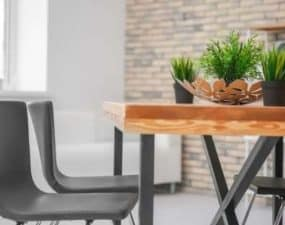 how to clean a wood table that is sticky