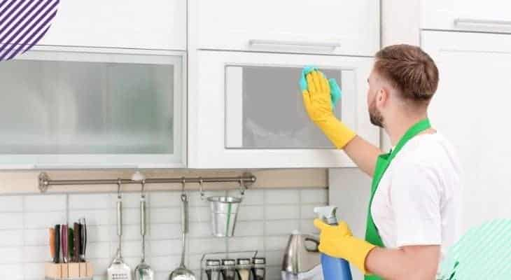 how to remove odor from microwave