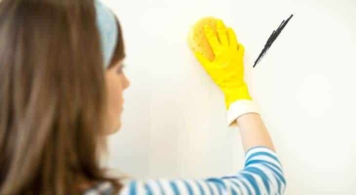 ow to get dry erase marker off the wall