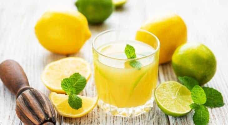 lemon juice as diffuser oil